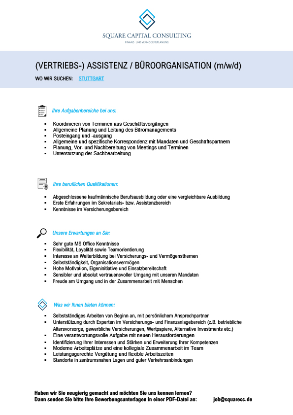Microsoft Word – SQUARE CC Stellenausschreibung Assistenz_10-20.